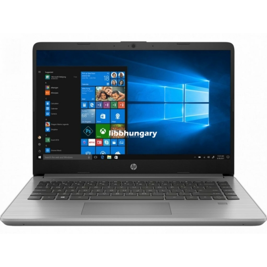 "HP 340S G7 14""FHD/Intel Core i5-1035G1/8GB/256GB/Int. VGA/DOS/ezüst laptop"