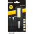 Kép 1/2 - ENTAC 3W+1W COB LED tölthető szerelőlámpa kampól, mágnes EWL-1W-COB-R